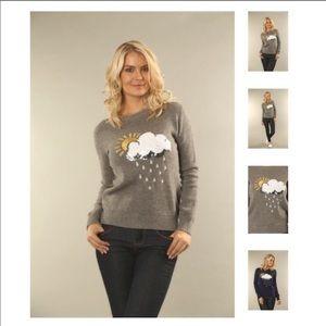 Sweaters - Rainy Day Sequin Sweater